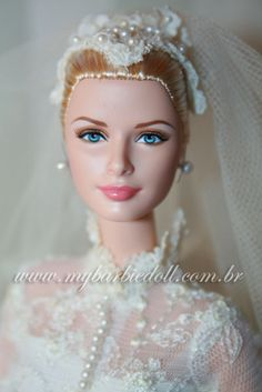 princess grace The Creative Doll - Dressing a Bride. 1/12 scale. Inspired by Grace Kelly and her Wedding dress. A MUST read post by MIchelle Mahler.
