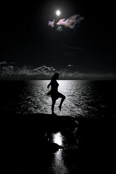 The world's gone mad. We must dance under the moon, to find the hidden beauty in the night. Silouette Photography, Art Photography, Dancing In The Moonlight, Moon Dance, Shoot The Moon, Moon Shadow, Under The Moon, Moon Pictures, Moon Magic