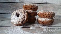 Sütőtökös fánk sütőben sütve Diabetic Recipes, Diet Recipes, Healthy Recipes, Bagel, Doughnut, Muffin, Bread, Baking, Breakfast