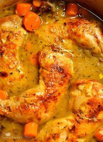Cider Braised Chicken