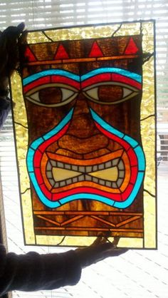 Stained glass piece for my brother 2010.
