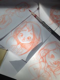 The Art of Renee Bates: Sketches!