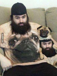 Hund mit Herrchen