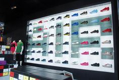 Retail Design | Footware | Store Design | Shop Interiors | NIKE DISPLAYS