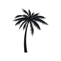 Mom Tattoos Discover Coconut palm tree icon in simple style on a white background Coconut palm tree icon simple style vector art illustration Small Palm Trees, Small Palms, Tropisches Tattoo, Deer Tattoo, Raven Tattoo, Samoan Tattoo, Polynesian Tattoos, Icon Tattoo, Leg Tattoo Men