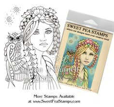 Willow & Whisp - Original Fairy Tangles™ designs by Norma J Burnell
