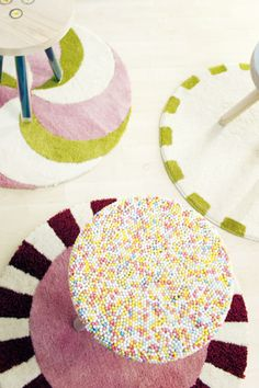candy themed furniture