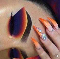 Riquelle ( - Makeup, hair, nails nails nails - Make-up Makeup Eye Looks, Eye Makeup Art, Beautiful Eye Makeup, Cute Makeup, Pretty Makeup, Eyeshadow Makeup, Beauty Makeup, Eyeshadows, Creative Eye Makeup
