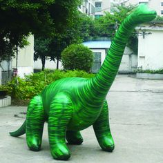 "144 "" Long Inflatable Huge Brachiosaurus Decorate Display Dinosaur"