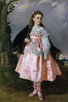 La condesa de Santovenia by Eduardo Rosales Gallinas (Madrid, 4 de noviembre de 1836 – Madrid, 13 de noviembre de 1873). Museo Nacional del Prado. Madrid