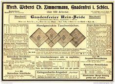 Original-Werbung/ Anzeige 1898 - LANDESHUTER LEINEN - UND GEBILD - WEBEREI…