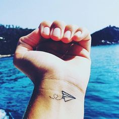 Pin for Later: 40 Tiny Tattoos For Travel-Lovers Just Go