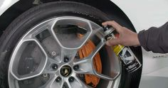 Tired of Cleaning Brake Dust? This is one of the tire services we offer. We clean it so you don't have to.