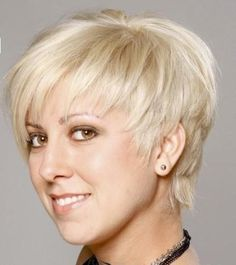 Blonde Short Hairstyles With Bangs