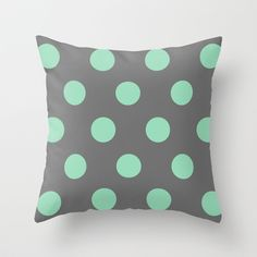 Polka Dots Throw Pillow by siobhaniaa Polka Dots, Throw Pillows, Toss Pillows, Cushions, Decorative Pillows, Polka Dot, Decor Pillows, Scatter Cushions, Dots