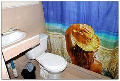 Detalle del baño de la habitación 2 ( Y no, no  es el mismo).. Trinidad, Curtains, Shower, Prints, Rain Shower Heads, Blinds, Showers, Draping, Picture Window Treatments