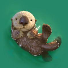 1,999 отметок «Нравится», 43 комментариев — Lynn Chen (@lynnchen66) в Instagram: «Just an otter floating around. Happy weekend everyone <3 ——- #seaotter #otter #cute #float #sea…»