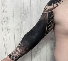 60 Blackout Tattoo Sleeve Designs For Men - Solid Black Ink Ideas Blackout Tattoo, Diy Tattoo, Great Tattoos, Tattoos For Guys, Blackwork, Black Ink Tattoos, Solid Black Tattoo, Best Sleeve Tattoos, Tattoo Sleeve Designs