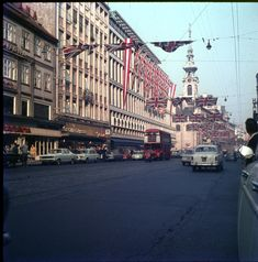 Vintage Vienna Vienna, Austria, Vintage Photos, Street View, 1960s, Photography, Old General Stores, Poster Wall, Trench