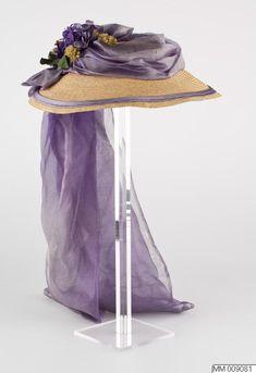 Ladies Victorian American Civil War Cream /& purple  BONNET costume fancy dress