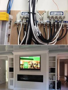 This female-owned communications company specializes in home wiring upgrades and home theater installation. They also handle additional cable installation, among others.