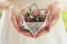 Handmade Geometric Terrariums by Waen