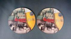 2-Budvar-Beer-Coasters-Mats-the-Original-Budweiser-European-Czech-Republic