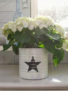 Smillas Wohngefühl: DIY: Upcycled cans oder Dosen aufhübschen leicht gemacht