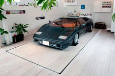 Nine Car Garage Kre House by No. 555 Architectural Design Office 20
