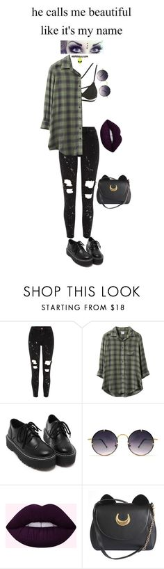 """#68"" by http-omam ❤ liked on Polyvore featuring River Island, sass & bide, RVCA, Spitfire and Usagi"