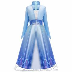 Cute Costumes, Halloween Costumes For Girls, Girl Costumes, Costumes Kids, Kids Elsa Costume, Halloween Party, Princess Dress Kids, Disney Princess Dresses, Princess Costumes For Girls