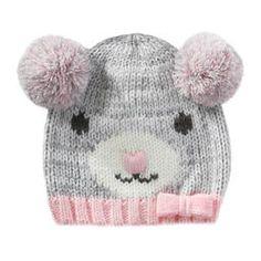 Chapeau animal pour bébés filles
