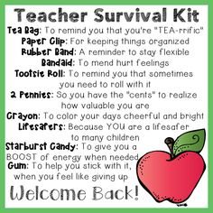 The more skills you discover, the more self reliant you are and the greater your opportunities for survival ended up being. Here we are going to discuss some standard survival skills and teach you the. Schul Survival Kits, Survival Kit For Teachers, New Teachers, Survival Prepping, Survival Skills, Survival Supplies, Survival Shelter, Survival Hacks, Survival Equipment