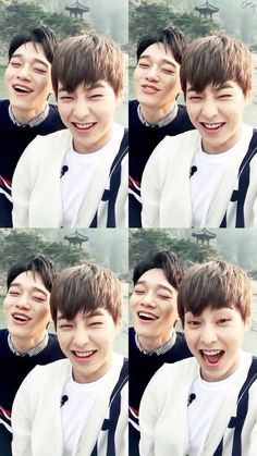 Xiumin and Chen
