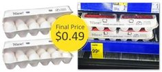 One Dozen Eggs, Only $0.49 at Walgreens!