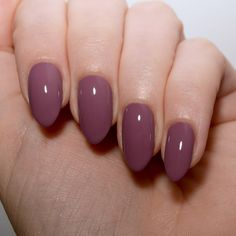 Floss Gloss Mauve Wives - A muted violet creme polish with a gorgeous grey tone.
