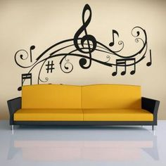 Vinilos Decorativos Detalle Musical