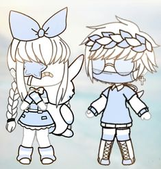 Manga Clothes, Drawing Clothes, Couple Outfits, Club Outfits, Cute Wallpaper Backgrounds, Cute Wallpapers, Poses, Clothing Sketches, Cute Anime Chibi