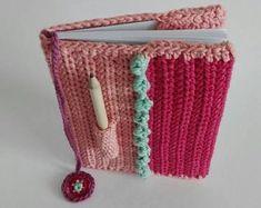 ShopCreativelySA on Etsy Crochet Book Cover, Crochet Books, Love Crochet, Diy Crochet, Crochet Accessories, Straw Bag, Crocheting, Etsy Seller, African