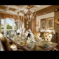 Gold, earth tones and crystals = glamour!... - Interior Design Ideas, Interior Decor and Designs, Home Design Inspiration, Room Design Ideas, Interior Decorating, Furniture And Accessories