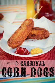 Homemade Carnival Corn-dogs