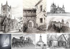 Architecture life drawings, Alex Pavlovich on ArtStation at https://www.artstation.com/artwork/architecture-life-drawings