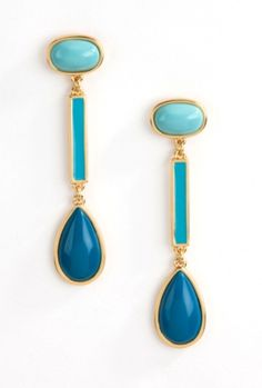 #trinaturk earrings that go beautifully with all of the coveted pieces from the new  Mediterraneo wardrobe.....