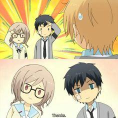 Relife Anime, Anime Stickers, Tv Times, School Life, Manga Art, Nerd, Icons, Romantic, Draw