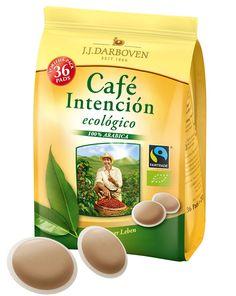 Kaffeepads Cafe Intencion BIO & Fairtrade 5 x 36 Stck (1260 g) | online kaufen bei Gourvita