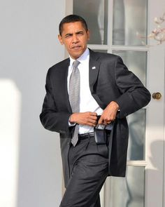 President Barak Obama @ The White House.