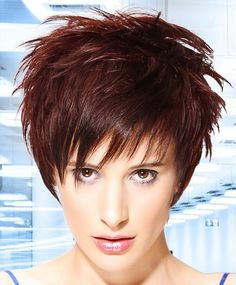 L Salon Short Brown Hairstyles