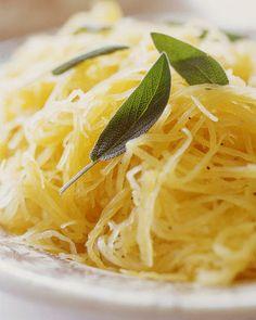 Spaghetti Squash...Such a great alternative to pasta!