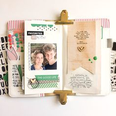 An Everyday Motherhood Traveler's Notebook with Tessa Buys | Elle's Studio Blog