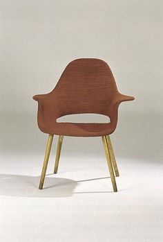 Eames & SAARINEN, Silla Organica , 1955